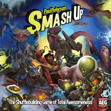 smash up strategy game