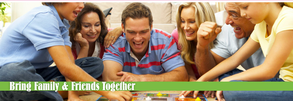 Bring Family & Friends Together | family playing together