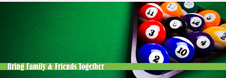 Bring Family & Friends Together | pool table and balls