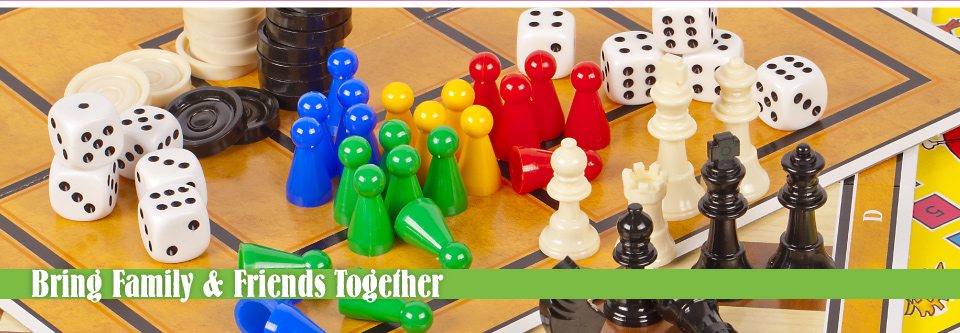 Bring Family & Friends Together | games